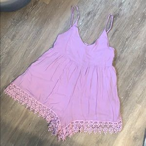 Purple Tobi Romper